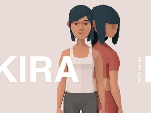 Kira | Lowpoly Character
