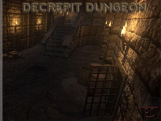 Unity Asset Decrepit Dungeon free download
