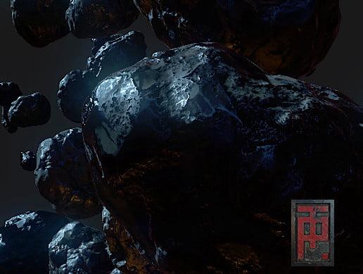 Unity Asset Next Gen Asteroid Pack free download