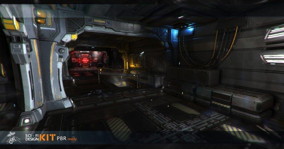 Unity Asset Sci Fi Design Kit free download