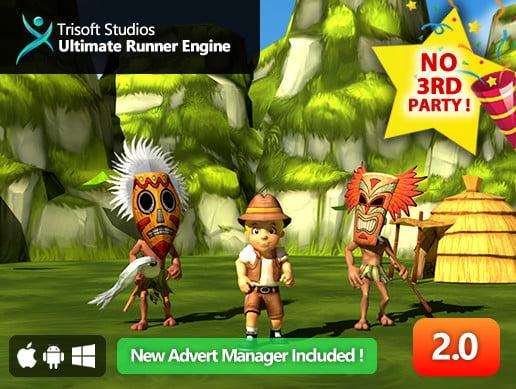 Unity Asset Ultimate Runner Engine free download