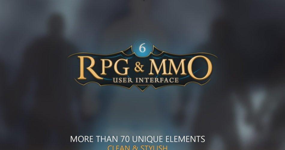 Unity Asset RPG&MMO UI 6 free download