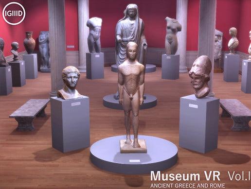 Unity Asset Museum VR Asset Pack Vol. I free download