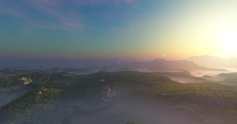 Unity Asset AzureSky Dynamic Skybox free download