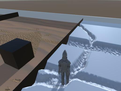 Unity Asset Basic Sand Snow free download