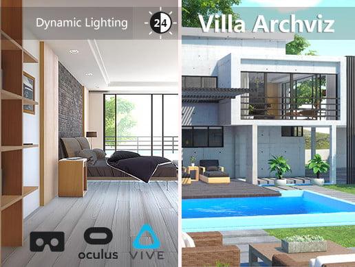 Unity Asset Villa Archviz free download
