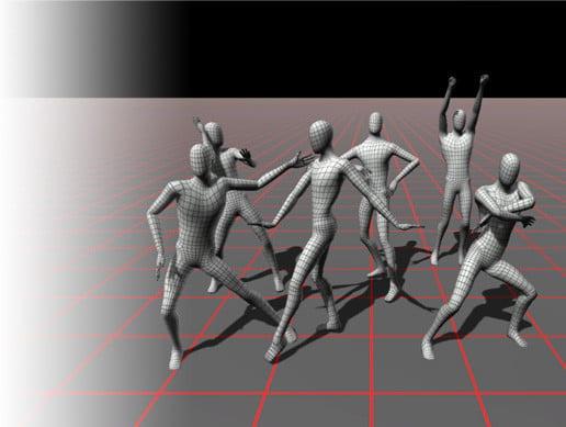 Unity Asset Dance MoCap Collection free download