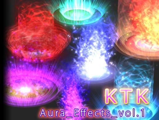 Unity Asset KTK Aura Effects Volume1 free download