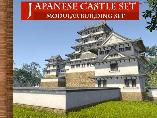 Unity Asset Japanese Castle – Modular Set free download