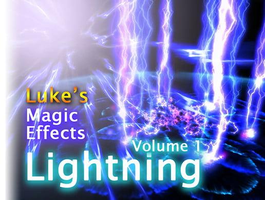 Unity Asset Lukes Magic Effects Lightning Volume 01 free download