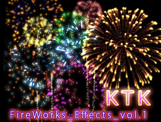 Unity Asset KTK Fireworks Effects Volume1 free download