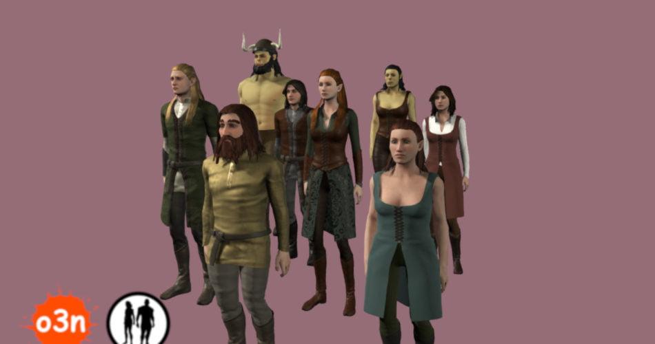 Unity Asset o3n Fantasy Content Bundle free download