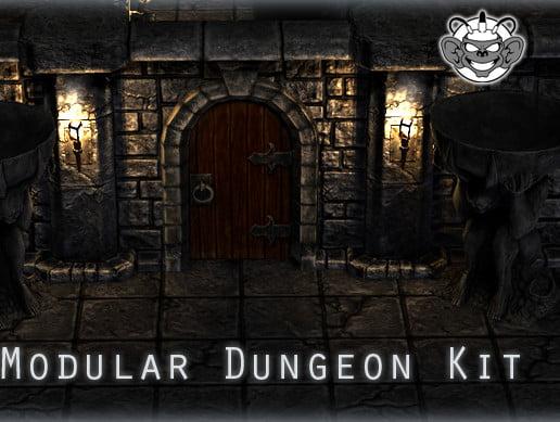 Unity Asset Modular Dungeon Kit free download