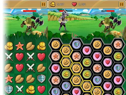 Unity Asset 6 Games Match-3 Puzzle Action Game Pack free download