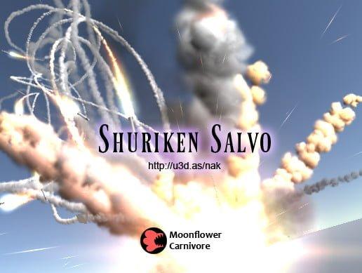 Unity Asset Shuriken Salvo free download
