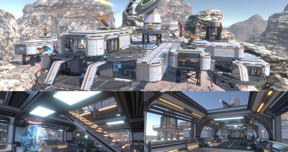 Unity Asset 3D Scifi Kit Vol 2 free download