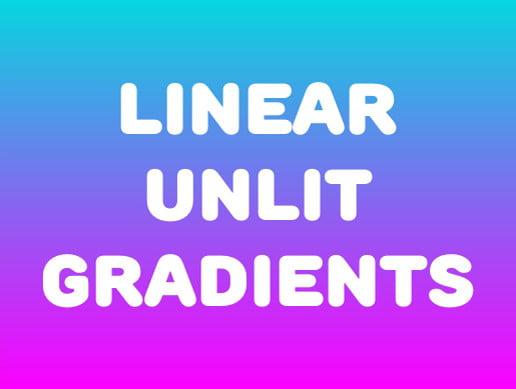 Unity Asset Linear Unlit Gradients free download
