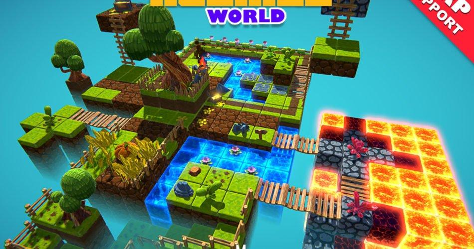 Unity Asset KUBIKOS – World free download