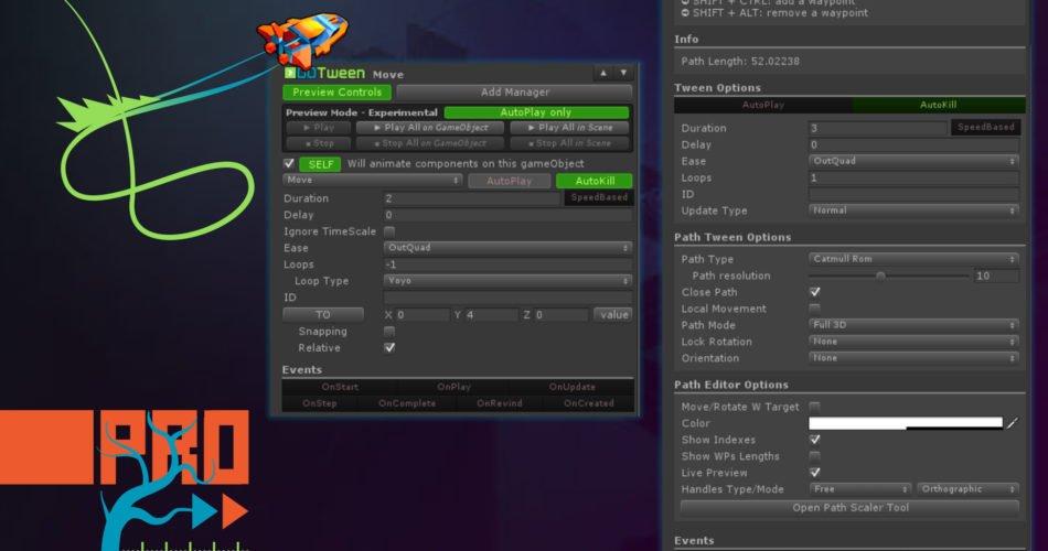 Unity Asset DOTween Pro free download
