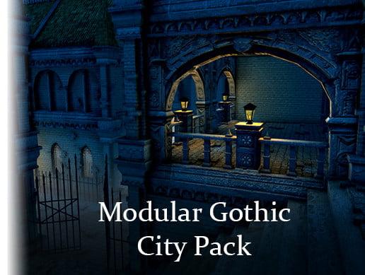 Unity Asset Modular Gothic City free download