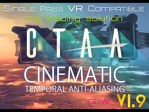 Unity Asset CTAA Cinematic Temporal Anti-Aliasing PC free download