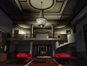 Unity Asset Mansion Level Interior free download