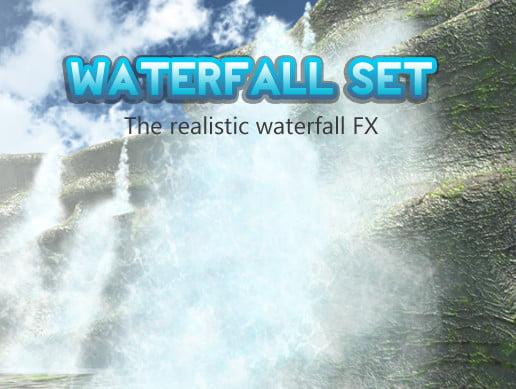 Unity Asset Waterfall set free download