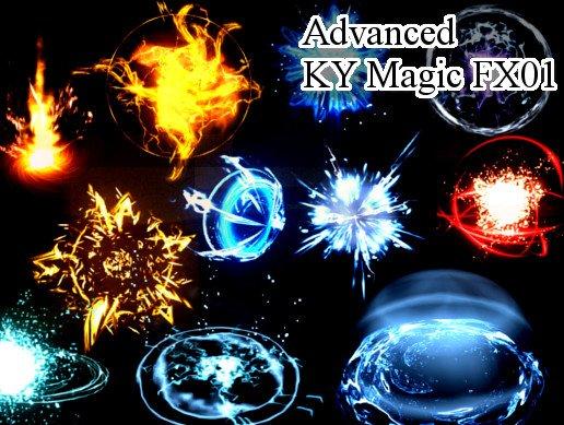Unity Asset AdvancedKyMagicFX 01 free download