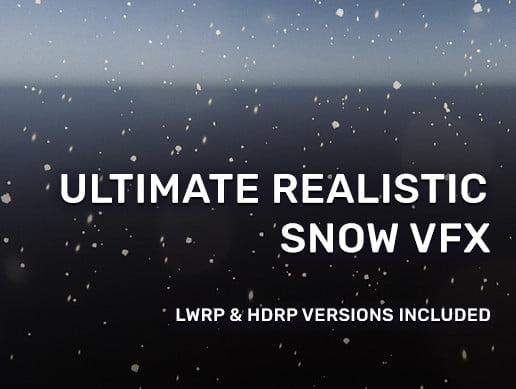 Unity Asset Realistic Snow VFX free download