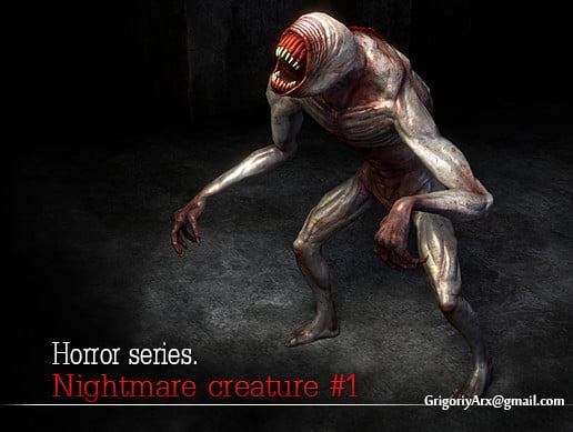 Unity Asset Nightmare Creature 1 free download