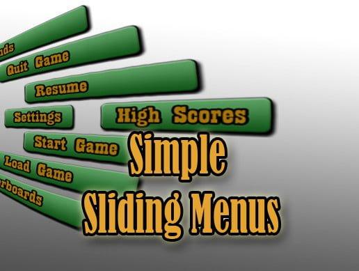 Unity Asset Simple Sliding Menus free download