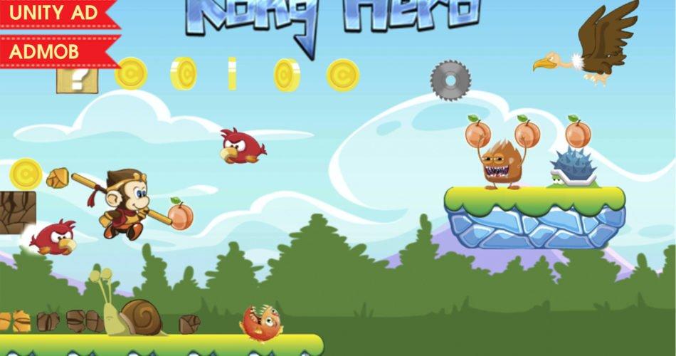 Unity Asset Ninja Hero Complete Game Template free download