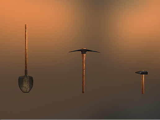 Unity Asset Medieval Tools free download