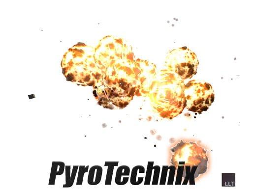 Unity Asset Pyro Technix free download