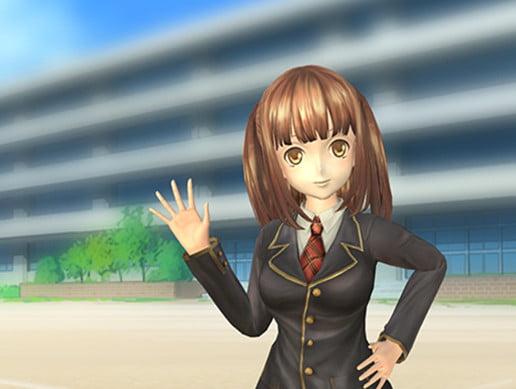 Unity Asset Anime High School Girl free download