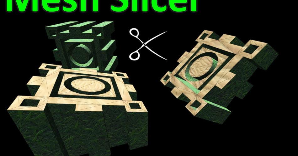 Unity Asset Mesh Slicer free download