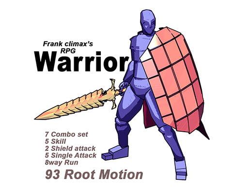 Unity Asset Frank Warrior free download