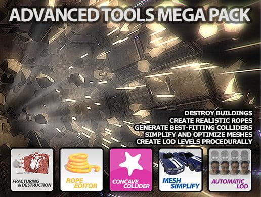 Unity Asset Advanced Tools Mega Pack free download