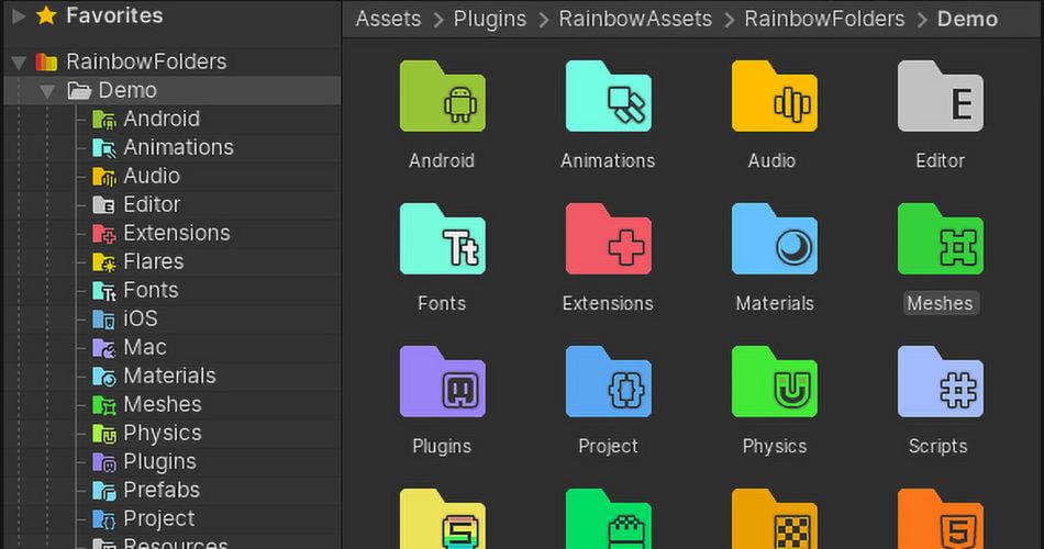 Rainbow Folders 2