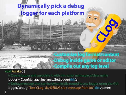 CLog Logger: Flexible logging framework