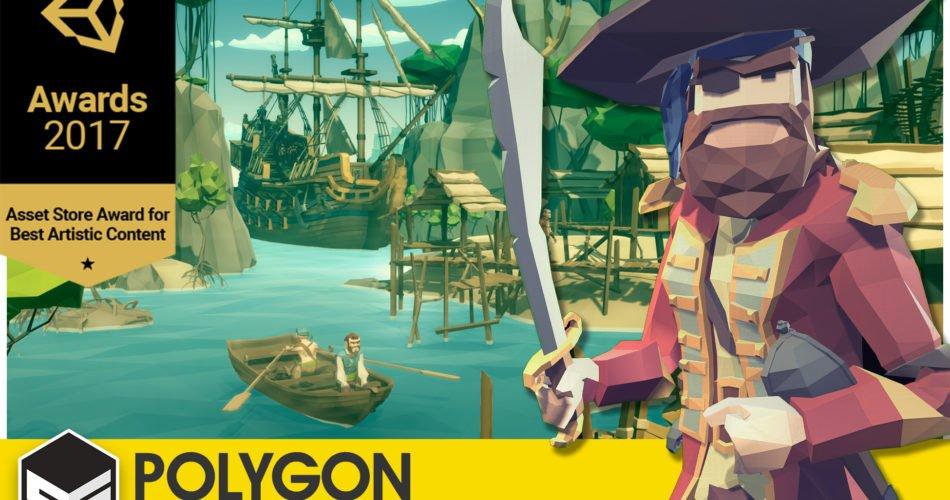 POLYGON - Pirates Pack