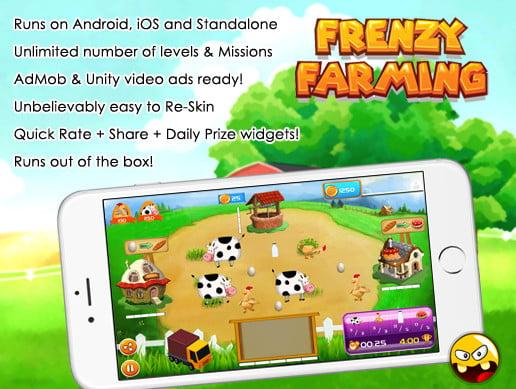 Frenzy Farming, time management game kit