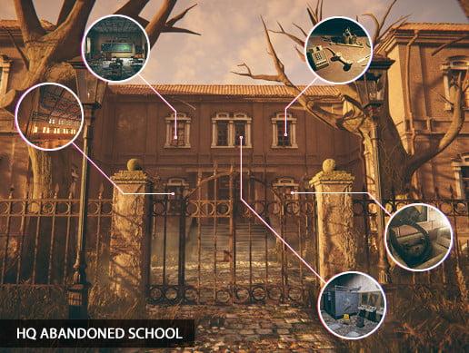 HQ Abandoned School (Modular)