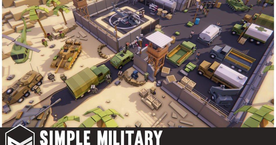 Simple Military - Cartoon War