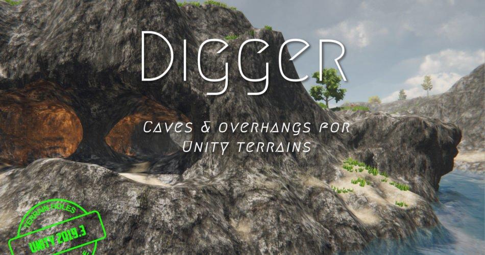 Digger - Terrain Caves & Overhangs