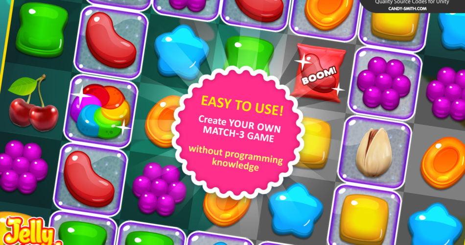 Match 3 Jelly Garden Kit