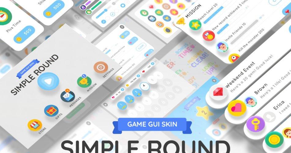 GUI Kit - Simple Round