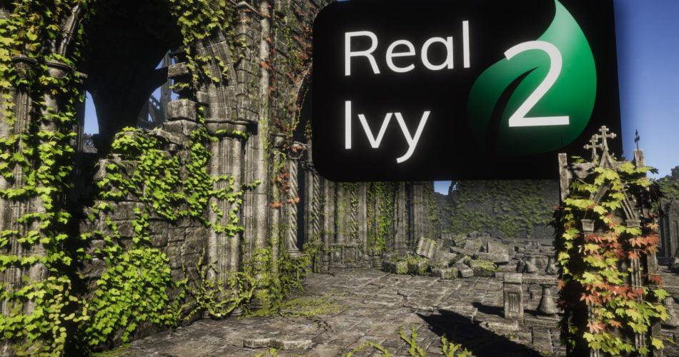 Real Ivy 2 Procedural Ivy Generator
