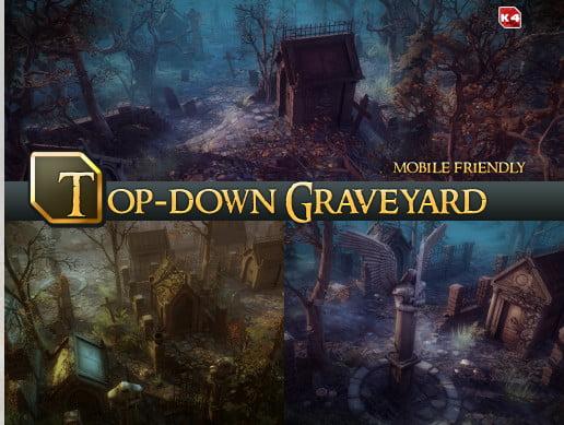 Unity Asset Top-Down Graveyard free download