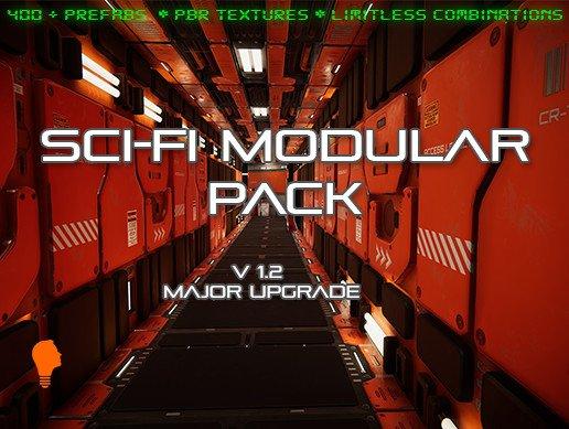 Unity Asset Sci-Fi Modular Pack free download